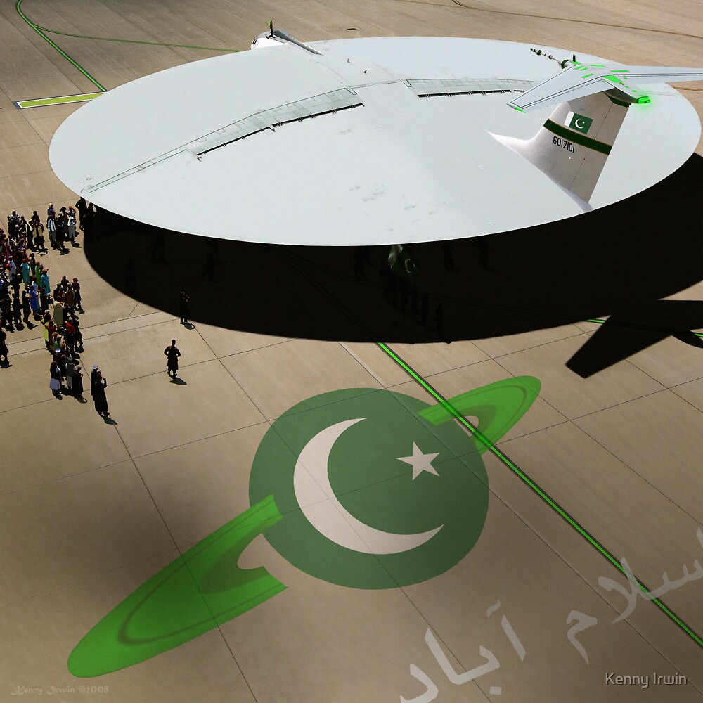 Be amazed at Pakistan's New Hyperdrive Saucer Ramjet by Kenny Irwin
