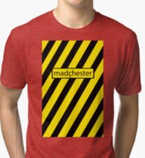 Madchester - Haçienda design // Madçhester Tri-blend T-Shirt