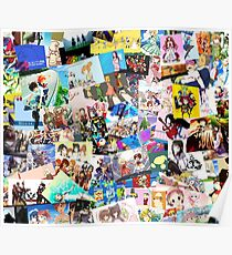Best Anime Collage Pics Poster