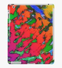 Shattering red tigers iPad Case/Skin