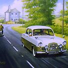 Ford Zephyr saloon.  by Mike Jeffries