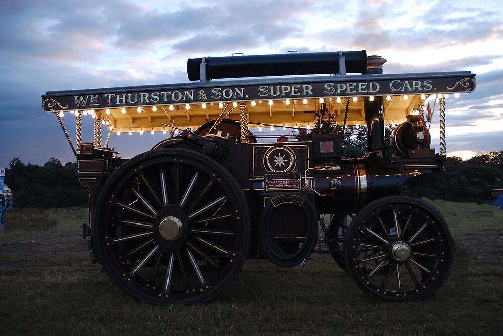 Steam power by Stephen faulkner