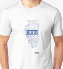 Illinois State - There's No Place Like Home (Blue Version) T-Shirt