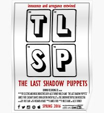 The Last Shadow Puppets - Film Poster Poster