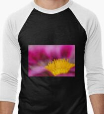Selective focus of a red water lily in a pond  T-Shirt