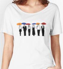 Friends TV Show Umbrella  Women's Relaxed Fit T-Shirt