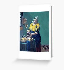 milkmaid Greeting Card