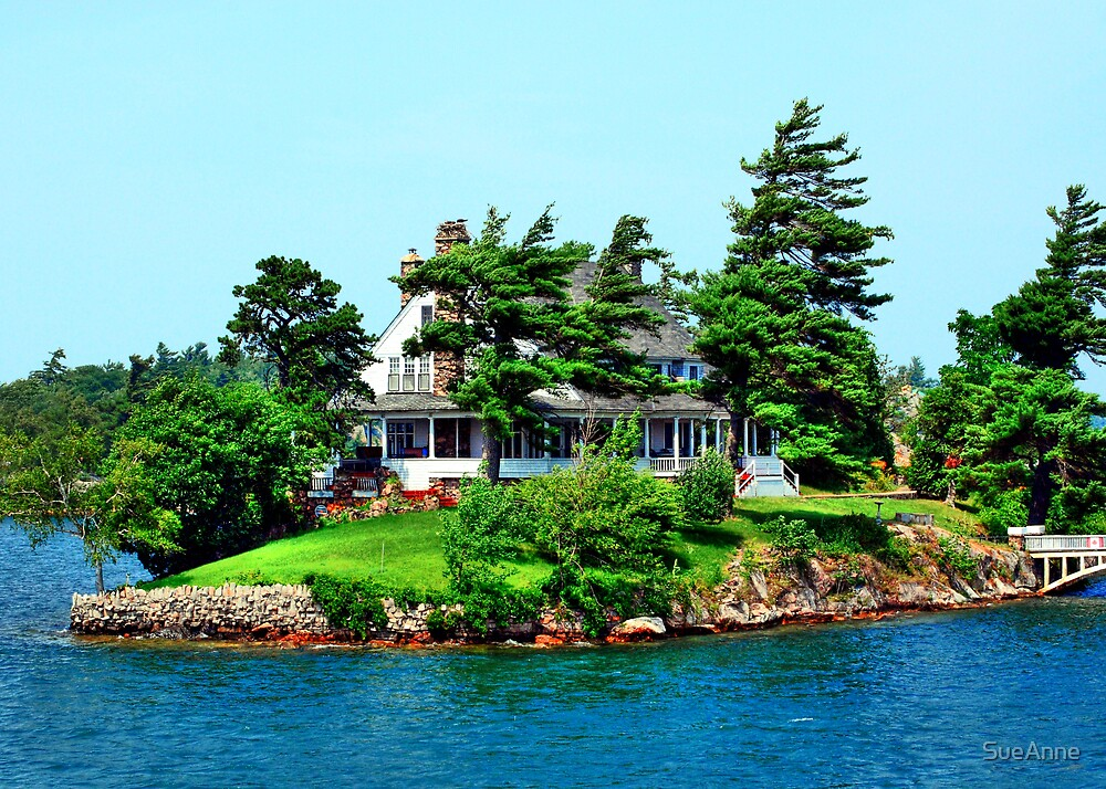"""The Little White House on """"1000 Islands"""" by SueAnne"""