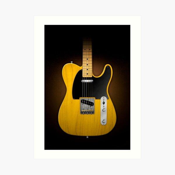 Electric Guitar Lámina artística