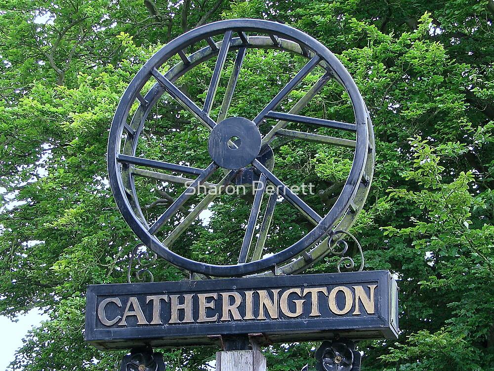 Catherington Village Sign by Sharon Perrett