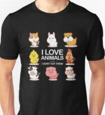 I Love Animals I Don't Eat Them T-Shirt