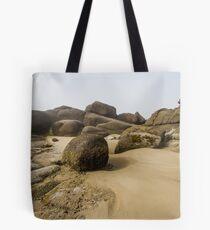 Rocky Sandscape on the Oregon Coast Tote Bag