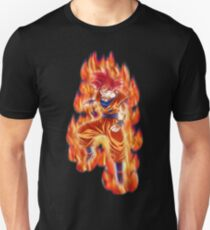 Dragon Ball - Goku Super Saiyan God (Red) T-Shirt