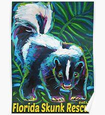 Florida Skunk Rescue Poster