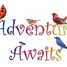 Adventure Awaits by Bonnie T.  Barry