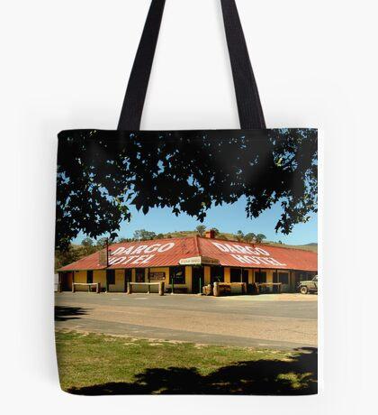 Historic Dargo Hotel, Victorian High Country Tote Bag