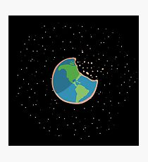 Earth Cookie Photographic Print