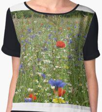 Wildflower Meadow Women's Chiffon Top