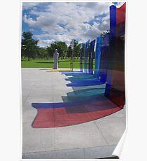 Naval Memorial, National Memorial Arboretum Poster