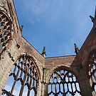 Coventry Cathedral Ruins by lezvee