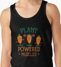Pflanzenbetriebener Muskel Tanktop für Männer