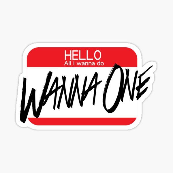 Wanna One Sticker
