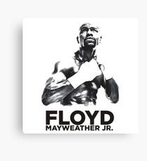 mayweather  Canvas Print