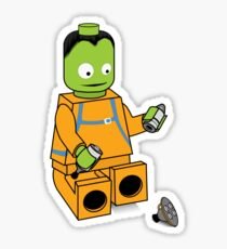 Space Legos Sticker