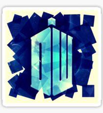 Doctor Who, scrap book.  Sticker
