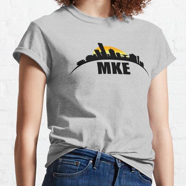 MILWAUKEE SKYLINE - MKE HOME Classic T-Shirt