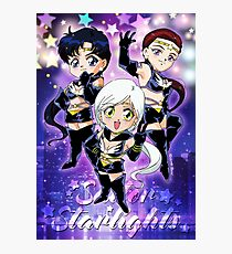 Chibi Sailor Starlights Photographic Print