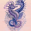 «Tatuaje de caballito de mar» de Ruta Dumalakaite