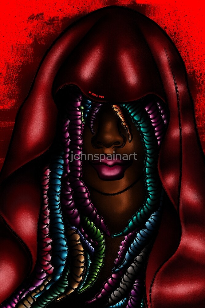 Little Red Riding Hood by johnspainart