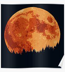 Moonlight Shadow Poster