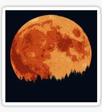 Moonlight Shadow Sticker