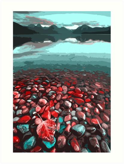 Crystal Lake by Andrea Mazzocchetti