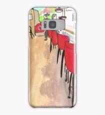 Laundromat Cafe Samsung Galaxy Case/Skin