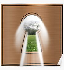 Keyhole To Happiness Poster
