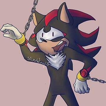 Shadow the hedgehog by Silverwing13