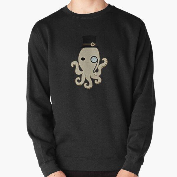 Steampunk Octopus Pullover Sweatshirt