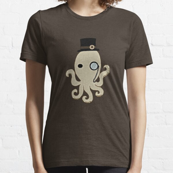 Steampunk Octopus Essential T-Shirt