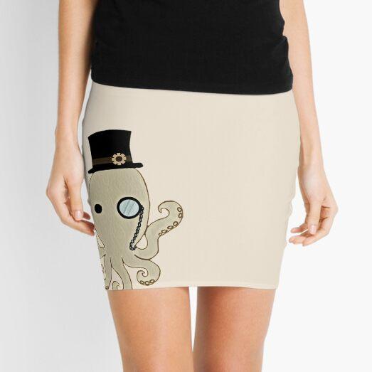 Steampunk Octopus Mini Skirt