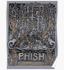 Phish Poster, Madison Square Garden New Years Dec,28-29-30-31, 2016 Poster