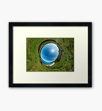 Kinnagoe Bay - Sky In Framed Print