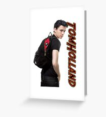 Tom Holland  Greeting Card