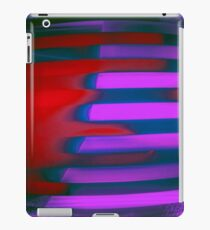 Abstract purple and red iPad Case/Skin