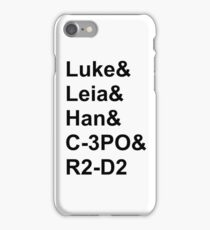 Star Wars - Classic Group iPhone Case/Skin