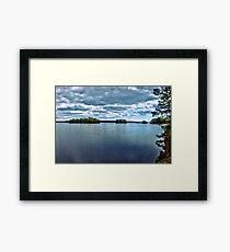 Rymmen islands III Framed Print