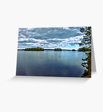 Rymmen islands III Greeting Card