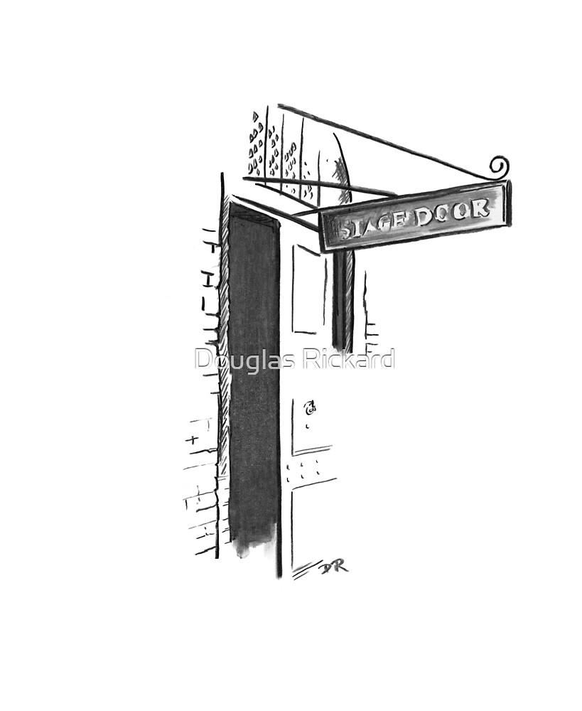 Stage Door London - Theatre Royal Drury Lane by Douglas Rickard